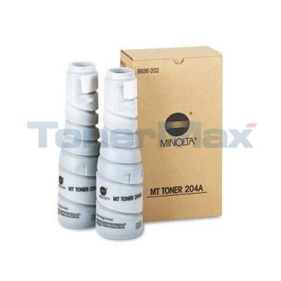 MINOLTA 2030 3000 TONER BLACK (204A)